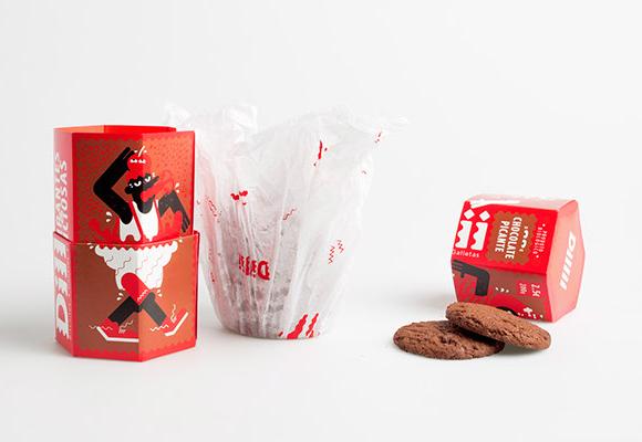 Концепт упаковки печенья