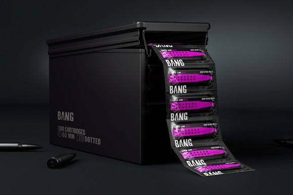 Концепт упаковки презервативов