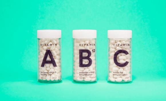 Концепт упаковки витаминов