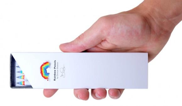 Концепт упаковки карандашей
