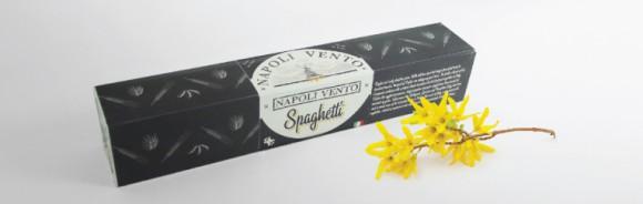 Концепт упаковки спагетти