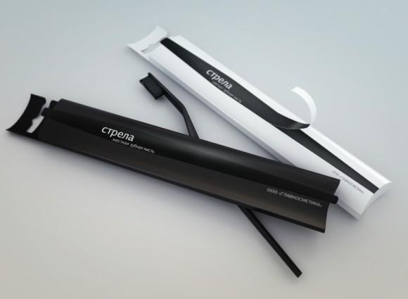 Концепт упаковки зубной щетки