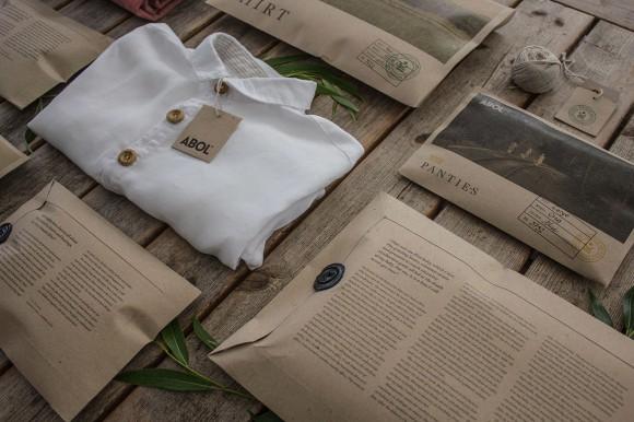 Дизайн упаковки одежды