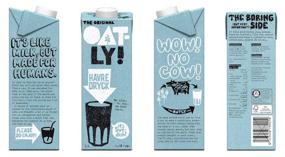 Дизайн упаковки орехового молока