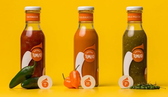Дизайн упаковки соуса