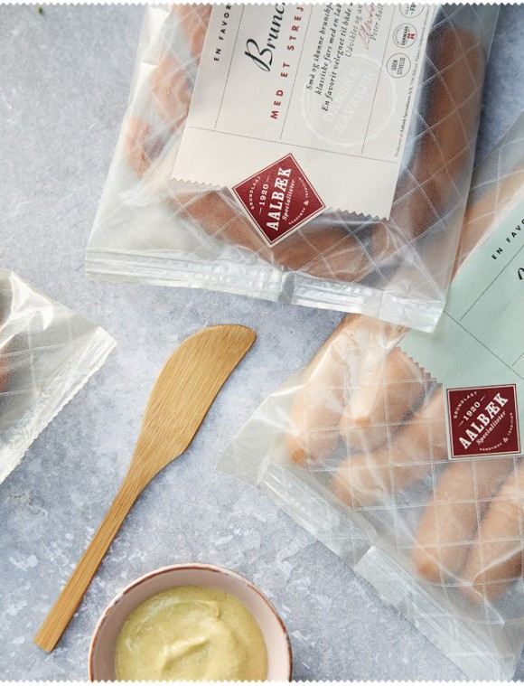 Дизайн упаковки колбасы