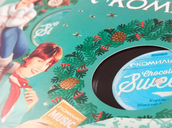 "Конфеты ""Комильфо"", Depot WPF #chocolate, #xmas, #vintage, #packaging"