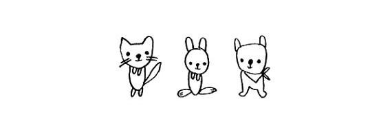 Детские печати и штампы #illustration #stamp