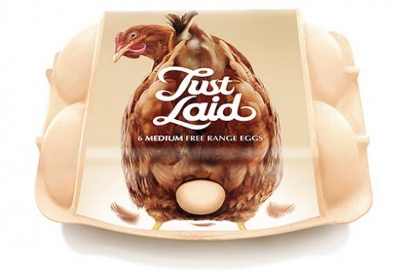 Концепт упаковки яиц
