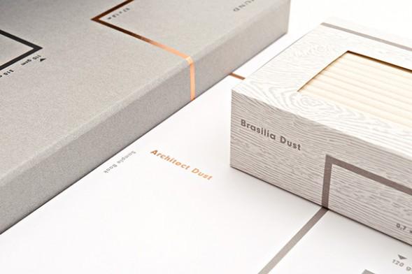 Упаковка дизайнерской бумаги