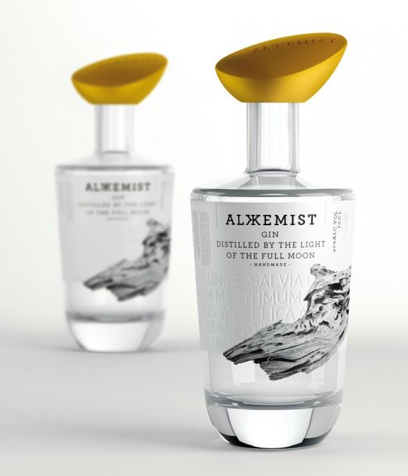 Самая креативная упаковка 2014: Alkkemist Gin by Series Nemo