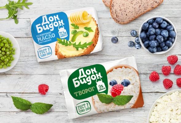 Лучшая упаковка 2014: молочные продукты Дон Бидон by GetBrand