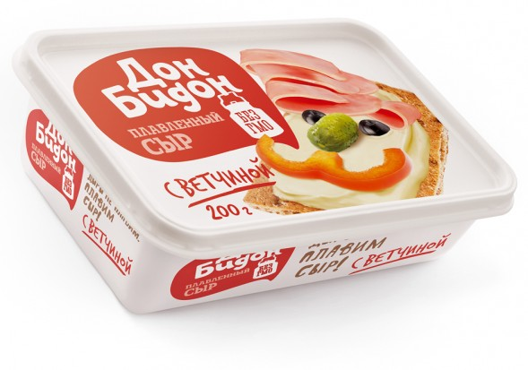 Лучшая упаковка 2014: плавленый сыр Дон Бидон by GetBrand