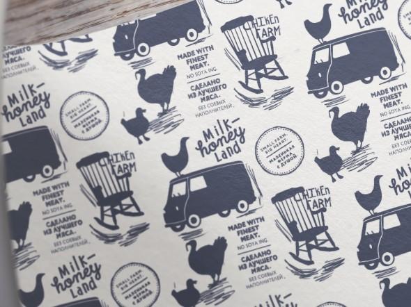 Дизайн упаковки фермерских продуктов
