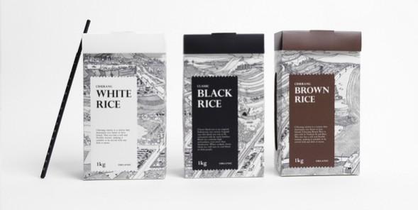 Дизайн упаковки риса