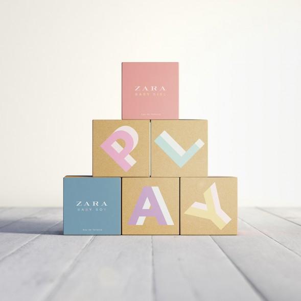 Дизайн упаковки детского парфюма