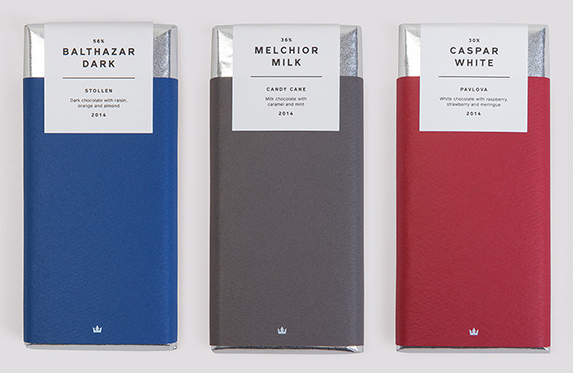 Дизайн упаковки шоколада