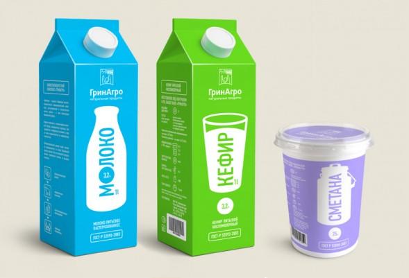 Дизайн упаковки молочной продукции