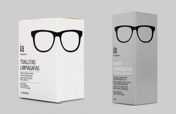 Дизайн упаковки средств по уходу за очками