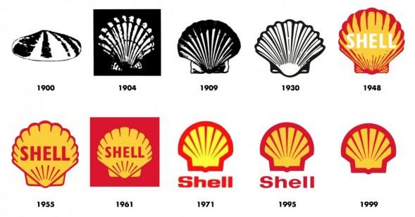 Дизайн логотипа Shell