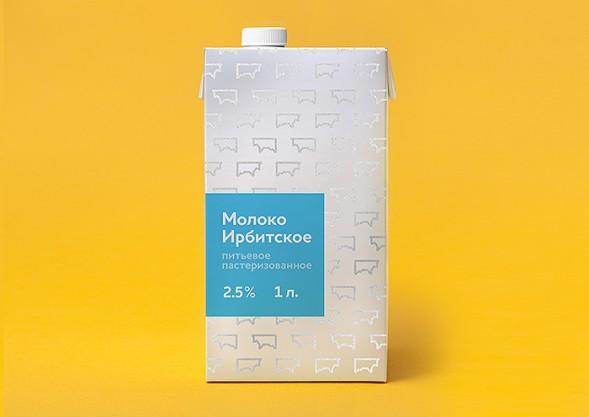 Дизан упаковки молока