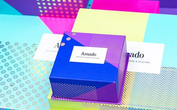 Фирменный стиль кондитерской Amado by Anarama