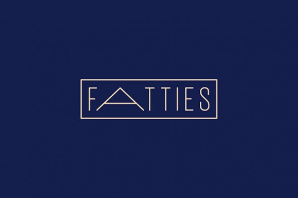 Fatties by Dot Dash #branding #typography