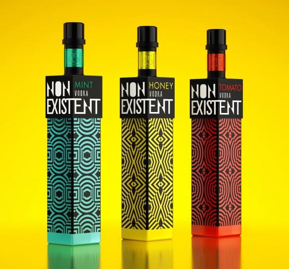 Концепт упаковки водки