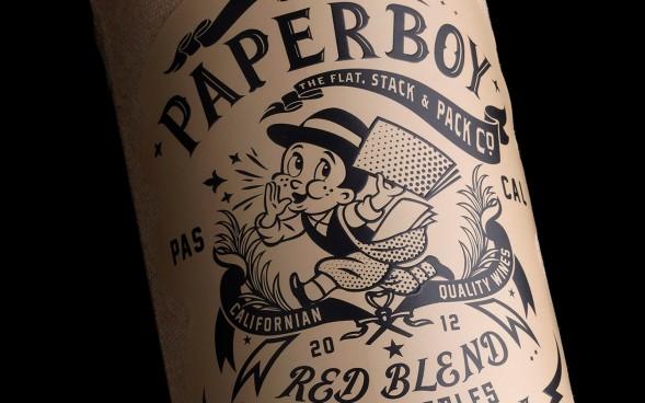 Paperboy by Stranger and Stranger #wine #design