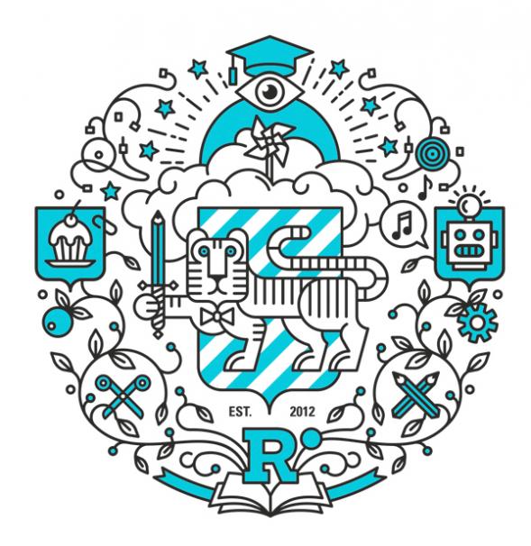 Брендинг образовательного проекта Respublica University by Denis Bashev #branding #icons