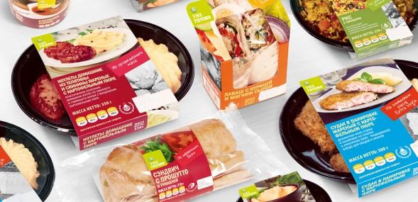 Редизайн упаковки СТМ - Азбука Вкуса