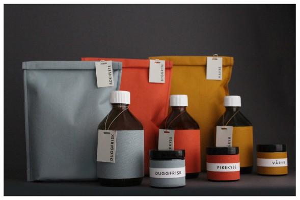 Концепт упаковки специй