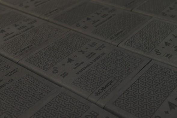 Дизайн упаковки образцов материалов