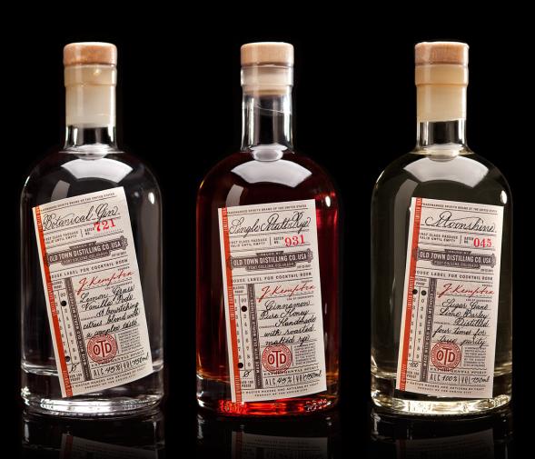 Дизайн алкогольной этикетки