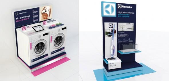 Оформление точки продаж бытовой техники Electrolux