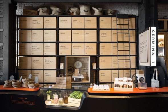 Фирменный стиль магазина Germina by Savvy Studio