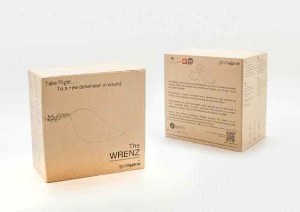 Дизайн упаковки аудио колонки