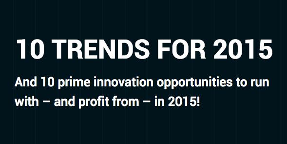Потребительские тренды на 2015 год