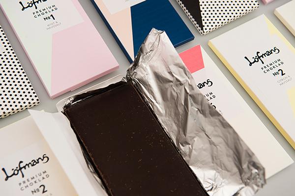 Концепт упаковки шоколада