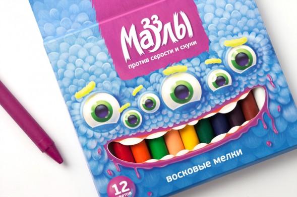 Дизайн упаковки канцтоваров