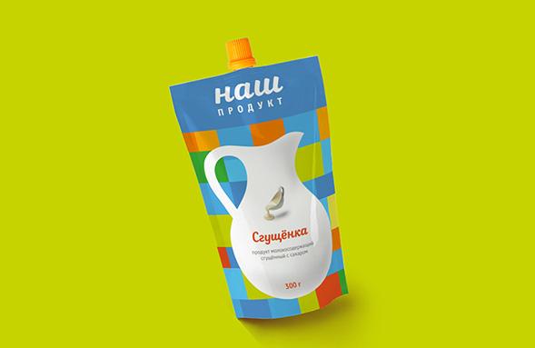 Дизайн упаковки продуктов - Наш (СТМ)