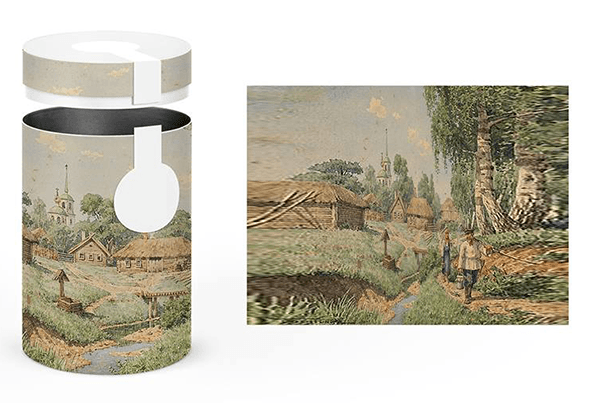 Концепт упаковки чая