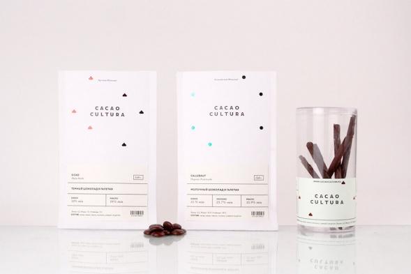 Фирменный стиль шоколадного бутика
