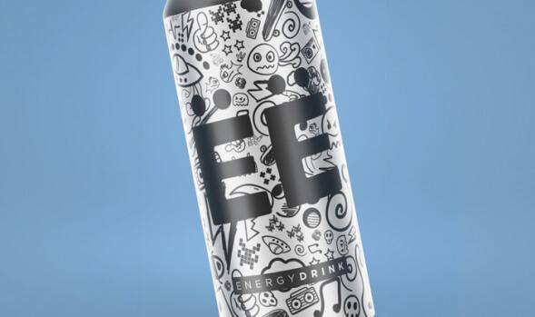 Дизайн упаковки энергетика