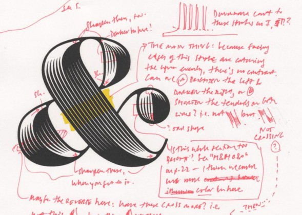 Шрифтовой дизайн: Obsidian #Font by Jonathan Hoefler