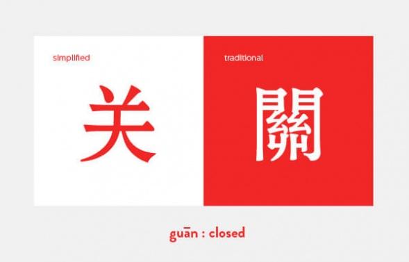 Китайская типографика