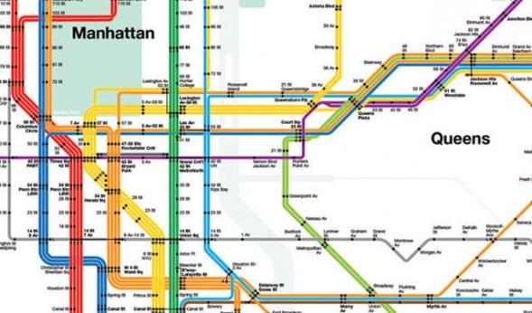 Интервью с создателем карты нью-йоркского метро