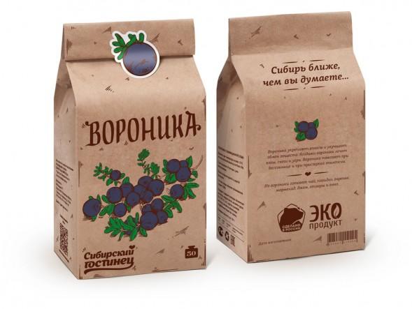 Дизайн упаковки линейки ягод