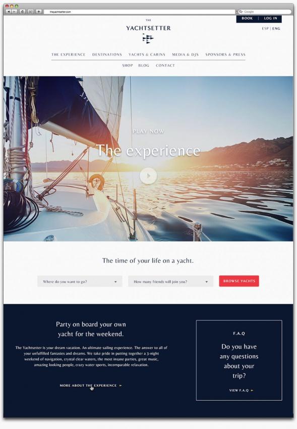 Фирменный стиль яхт-клуба