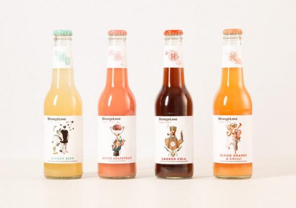 Дизайн упаковки напитка